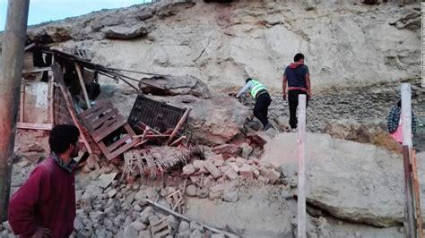 deadly earthquake shakes southern peru cnn