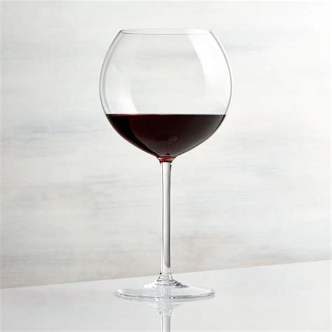 vineyard  oz burgundy wine glass reviews crate
