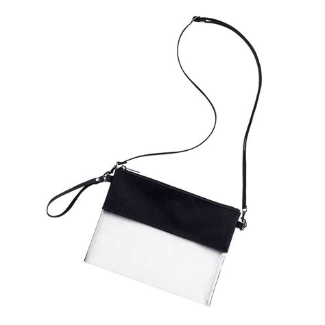 personalized clear crossbody  color choices monogram included initial styles jupiter