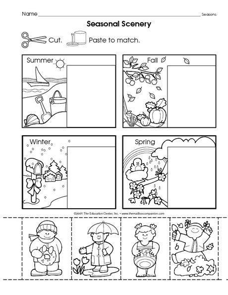 omalov 225 nka ročn 237 obdob 237 education science kindergarten worksheets seasons worksheets