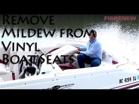 How To Remove Tree Sap From Vinyl Boat Seats by How To Clean Stains From Vinyl Boat Cushions Boating And