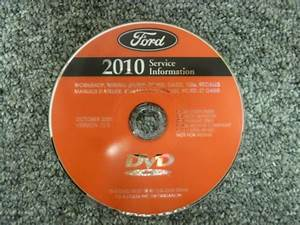 2010 Ford Crown Victoria Shop Service Repair Manual Police Interceptor Dvd