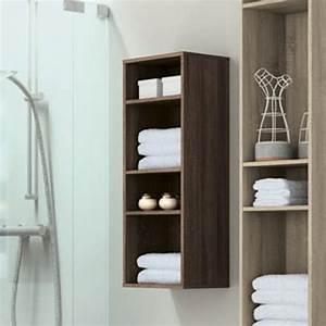 Demi Colonne Salle De Bain : demi colonne de rangement ouverte 92x33 cm modulo 92 ~ Premium-room.com Idées de Décoration