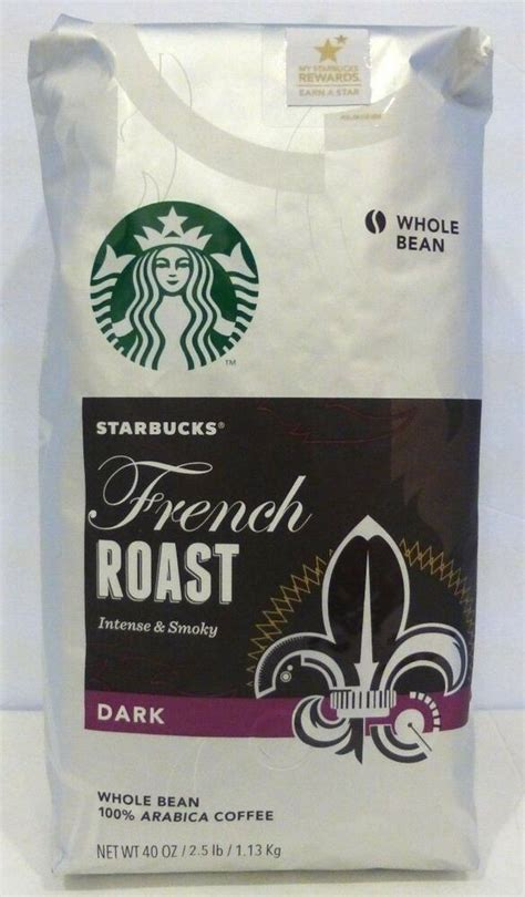 Choose from contactless same day delivery, drive up and white smoke hangs down as the glistening beans turn ebony. NEW STARBUCKS FRENCH ROAST DARK Whole Bean Coffee 40 Oz/2.5 LB /1.13kg | eBay