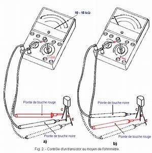Utilisation D Un Ohmmètre : contr le des transistors l 39 ohmm tre et leurs montages ~ Premium-room.com Idées de Décoration