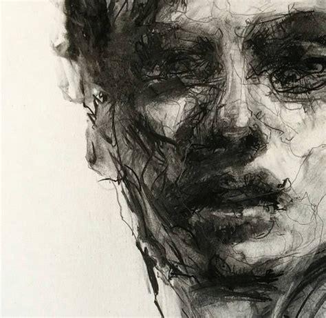 charcoal work  agnes grochulska arting   art