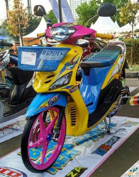 Modifikasi Mio Thailook by 5 Motor Thailook Modifikasi Terbaru Terbaik 2019 Otoflik