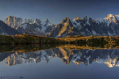votre bureau tlcharger fond d 39 ecran lac cheserey alpes françaises les