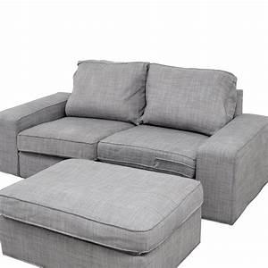 Sofa Füße Ikea : 64 off ikea ikea kivik gray sofa and ottoman sofas ~ Bigdaddyawards.com Haus und Dekorationen