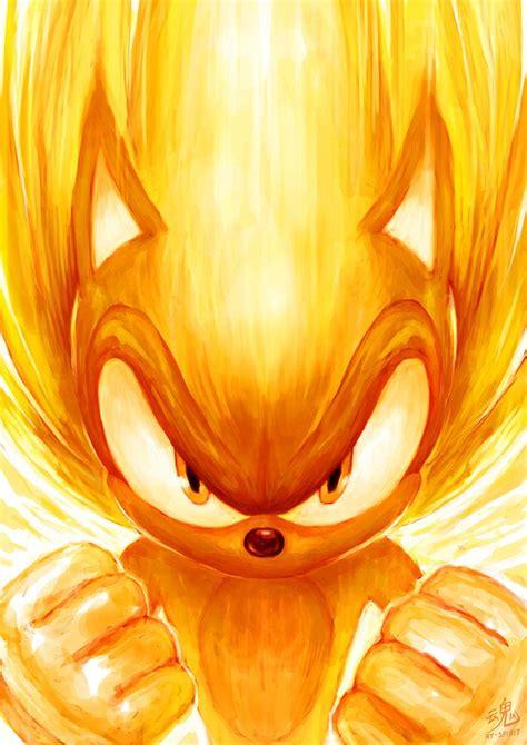 Super Sonic By Ryspirit On Deviantart