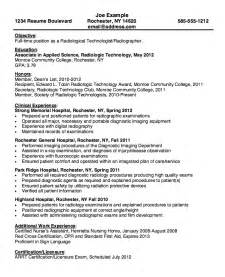 entry level nuclear medicine technologist resume sle resume for radiologic technologist radiologic technologist resume template premium