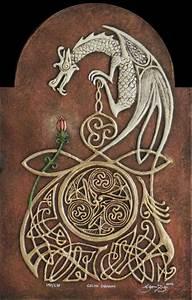 Celtic Dragon by kevindyer on DeviantArt