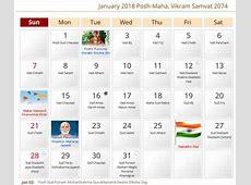 Gujarati Calendar 2018 Online – Download Traditional