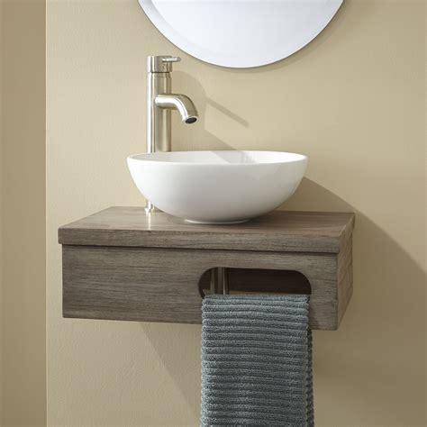 coat hooks door mounted 18 quot dell teak wall mount vessel vanity with towel bar