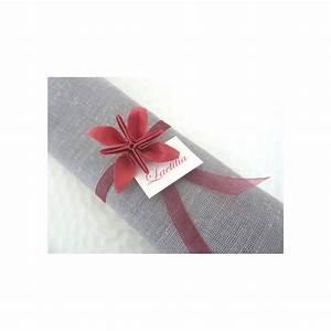 Serviette De Noel En Papier : rond de serviette decoration pour noel marques place en origami mariage fleur rouge en papier ~ Teatrodelosmanantiales.com Idées de Décoration