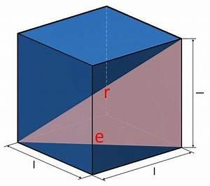 Diagonal Berechnen : w rfel fl che kanten volumen berechnen beim w rfel ~ Themetempest.com Abrechnung