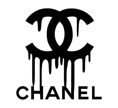 chanel drip logo vinyl painting stencil size pack high