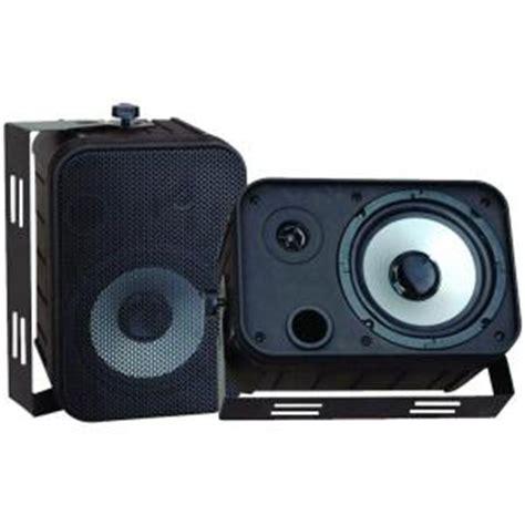 pyle 6 5 in indoor outdoor waterproof speakers pdwr50b