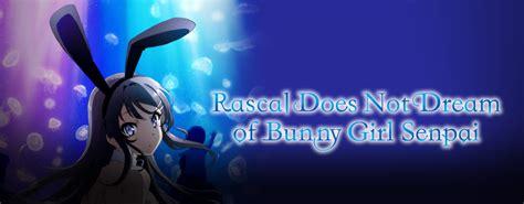 Bunny Girl Senpai Anime Episode 1 English Dub