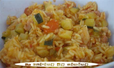 cuisine simple et facile risotto estival aux l 233 gumes facile et rapide la cuisine de mimine