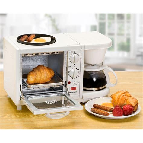 elite cuisine elite cuisine ebk 200 3 in 1 breakfast center coffee