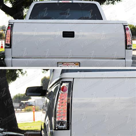 97 gmc sierra tail lights 94 95 96 97 98 gmc sierra headls bumper smoked third