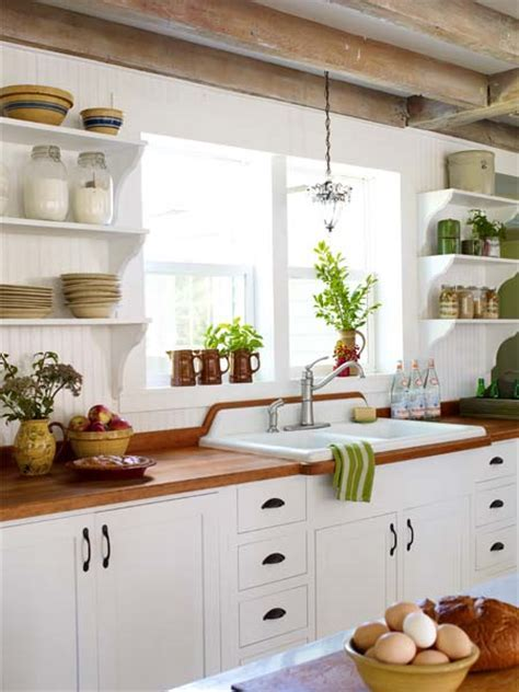 Wood Counter Style: Refreshed Farmhouse   All About Wood