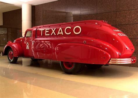 1939 Dodge Airflow Texaco Fuel Truck Art Deco Nouveau
