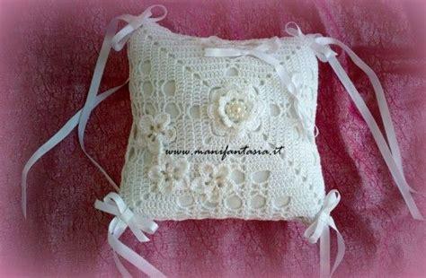 cuscino portafedi uncinetto cuscino portafedi uncinetto schemi sposa e comunione