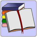 Icon Books Clip Study Svg Onlinelabels Exam