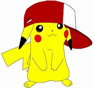 Pikachu With Hat Drawing | www.pixshark.com - Images ...