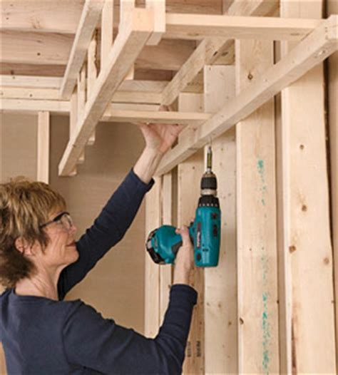 Building a Soffit   Framing Basics   Drywall Installation