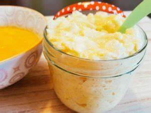 Baby Abendbrei Rezepte : milchreis mit mangomus leckeres babybrei rezept ~ Yasmunasinghe.com Haus und Dekorationen