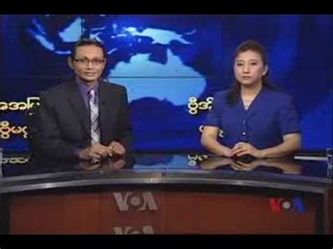 Voa Live Tv by Voa Burmese Tv Magazine April 1st Week 2013