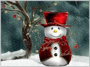 Christmas Computer Wallpapers: Christmas Snowman ...