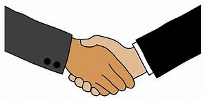 Business Handshake - Free Clip Art