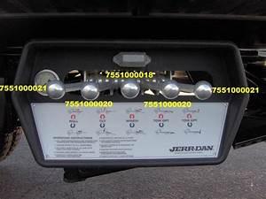 Jerr Dan Control Handle Offset Part  7551000020  Aluminum