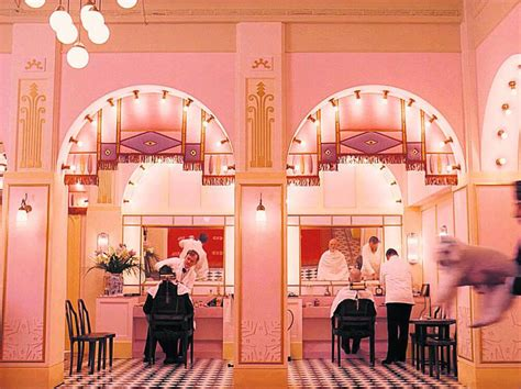 Kate: The Grand Budapest Hotel - Making Space