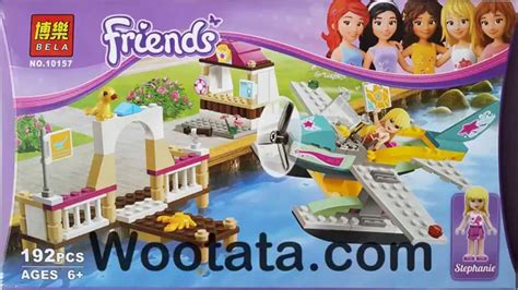 mainan lego bela friend 10153 beli mainan lego bela friends 10157 heartlake flying club