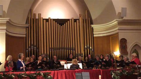 Chancel Choir First Congregational Church Alameda Youtube