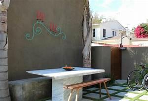 Objet Deco Exterieur : d co mur ext rieur jardin 51 belles id es essayer ~ Carolinahurricanesstore.com Idées de Décoration