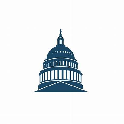 Capitol Dc Washington Building Icon Vector Hill