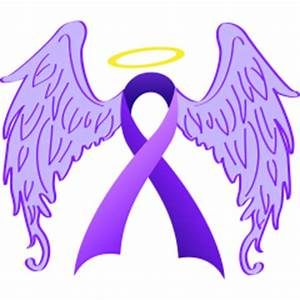 Angel Wings Purple Ribbon Custom Relay For Life T-Shirts ...