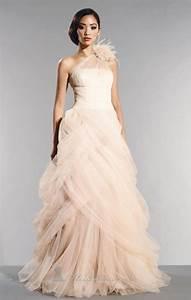 colored wedding dresses tulle informal wedding dresses With casual wedding dresses with color