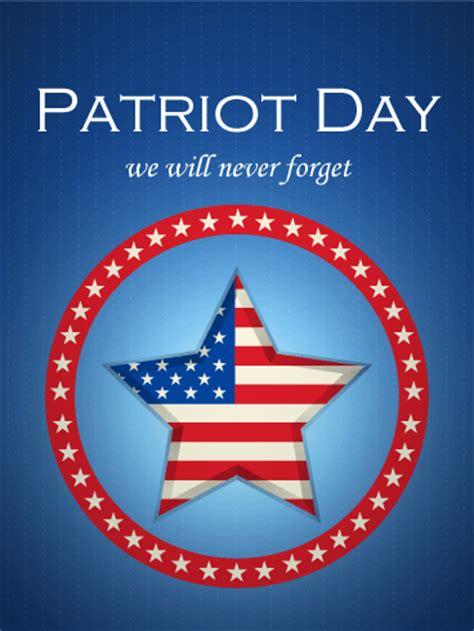 forget patriot day card birthday greeting