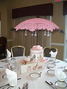 35 best umbrella images on pinterest umbrellas baby With wedding shower table centerpieces