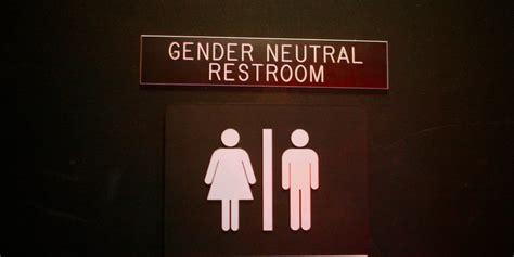 Gender Neutral Bathroom by Alabama City Buckles Pressure Rescinds Transgender