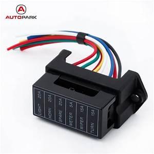 An Automotive Fuse Box Generates : 6 way dc32v circuit car trailer auto blade fuse box block ~ A.2002-acura-tl-radio.info Haus und Dekorationen