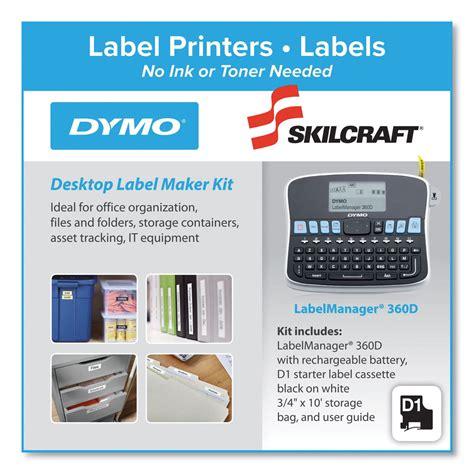 skilcraft dymo maker label desktop kit ontimesupplies each