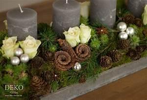 Deko Für Adventskranz : weihnachtsdeko basteln adventskranz im naturlook deko kitchen gestalten pinterest advent ~ Buech-reservation.com Haus und Dekorationen
